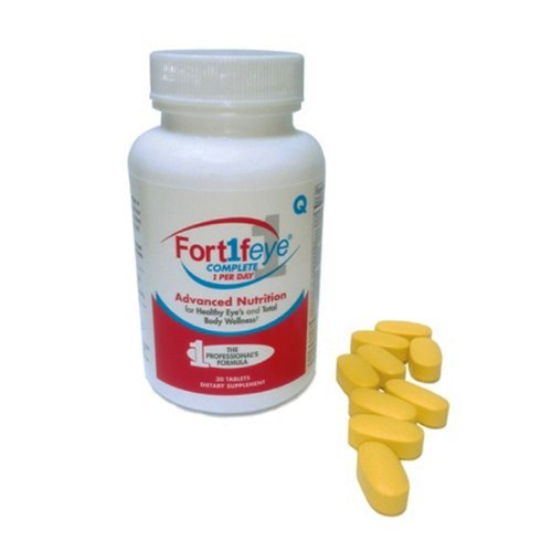 Fortifeye Vitamins for Complete One-A-Day Multivitamin (30 Tablets) (Fortifeye Super Omega 3 Fish Oil compare prices)