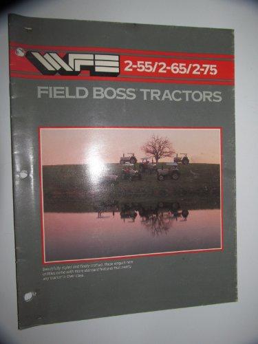 White 2-55, 2-65 & 2-75 Tractor Sales Brochure Original