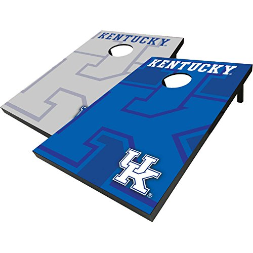 Kentucky Wildcats Cornhole Bean Bag Toss with 8 Bean Bags, Officially Licensed NCAA Football (Corn Hole Kentucky compare prices)