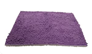 Luxury Sublime Bath Rug Lavender Frost