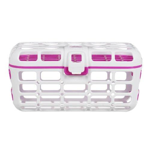 Munchkin Deluxe Baby Dishwasher Basket - Pink front-585513