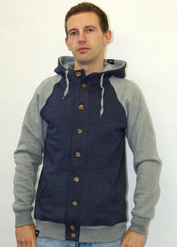 Wemoto BLISS 4 JACKET Mens Hooded Jacket, indigo blue, L