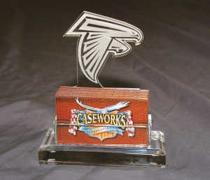 NFL Atlanta Falcons Business Card Holder in Gift Box by Caseworks