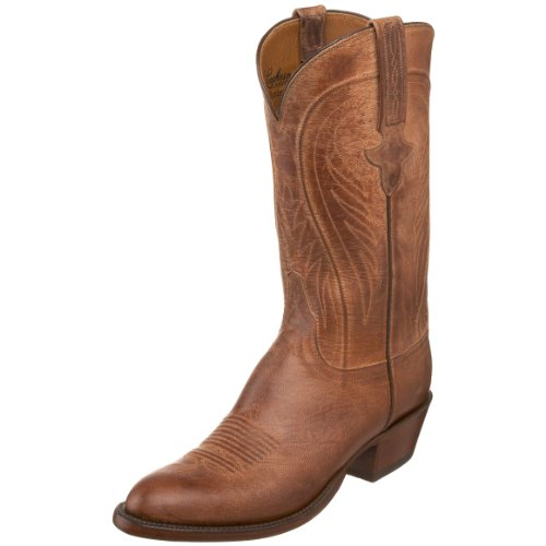 Lucchese Classics Men's L1600.64 Western Boot,Tan,7.5 EE US