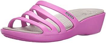Crocs Rhonda Wedge Womens Shoes