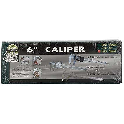 PD-153 Standard Caliper (6 Inch)