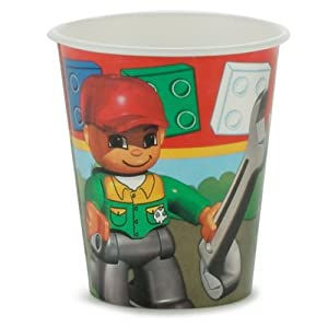 LEGO birthday party supplies: LEGO Ville cups