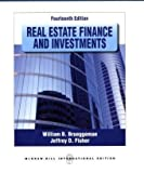 img - for Real Estate Finance and Investments by Brueggeman, William B., Fisher, Jeffrey 14th International e edition (2010) Paperback book / textbook / text book