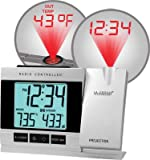 Lacrosse Projection Alarm Clock with Indoor/outdoor Temp