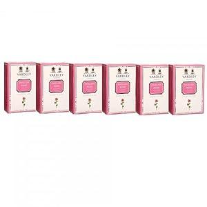 Yardley English Rose Luxury Soap, 100g (Pack of 6)