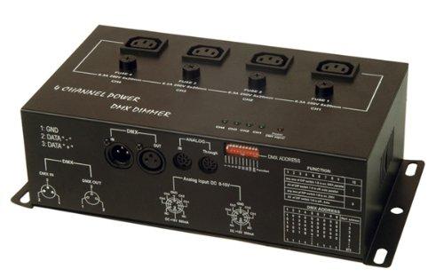 Soundlab DMX 4 Channel Dimmer Pack