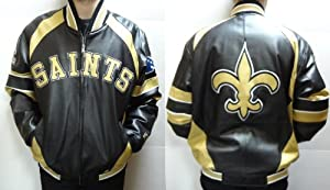 New Orleans Saints Leather Jacket by NFL