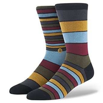 Stance Men's Gable Casual Socks, Multi, Large/X-Large