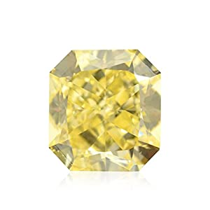 2.02Cts Fancy Yellow Loose Diamond Natural Color Radiant Cut GIA Certified
