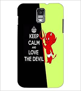 PrintDhaba Quote D-5635 Back Case Cover for SAMSUNG GALAXY S5 (Multi-Coloured)