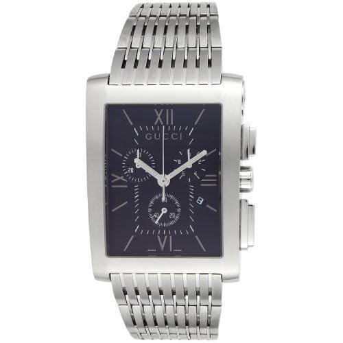 [グッチ]GUCCI 腕時計 Gメトロ ブラック文字盤 クロノグラフ デイト YA086309 メンズ 【並行輸入品】