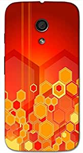 Timpax protective Armor Hard Bumper Back Case Cover. Multicolor printed on 3 Dimensional case with latest & finest graphic design art. Compatible with Motorola Moto -G-2 (2nd Gen )Design No : TDZ-27600