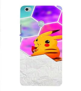 PrintVisa Corporate Print & Pattern Kitty Cute 3D Hard Polycarbonate Designer Back Case Cover for Xiaomi Max