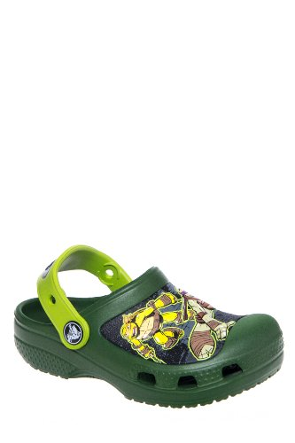 Kid's Creative Crocs Teenage Mutant Ninja Turtles Clog Sandal