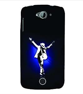99Sublimation Man Dancing in White Suit and Hat 3D Hard Polycarbonate Designer Back Case Cover for Acer Liquid Z530 :: Acer Liquid Z530S