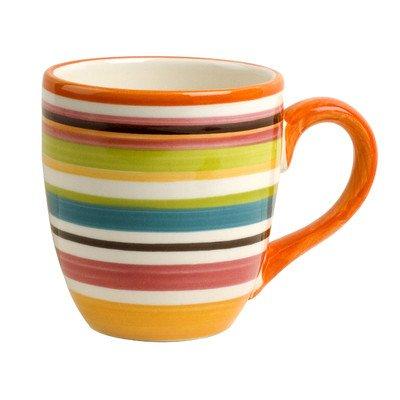 Rio Multistriped 14 oz. Mug [Set of 4]