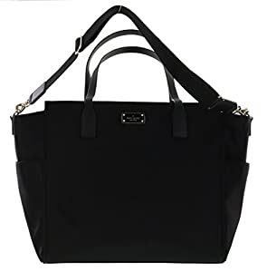 Kate Spade Taden Baby Diaper Bag - Blake Avenue - WKRU3524 (Black) by Kate Spade York from Kate Spade