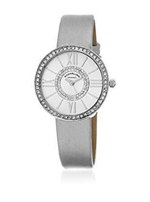 Stuhrling Original Reloj con movimiento cuarzo japonés Woman Vogue 566 Gris 34.0 mm
