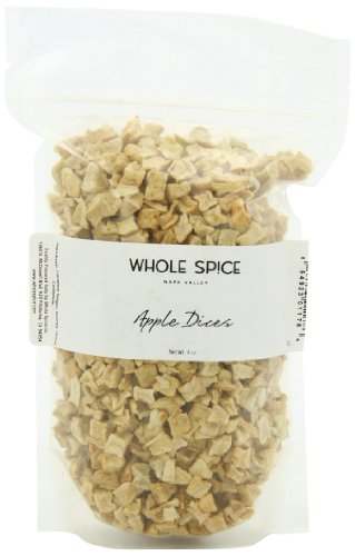 Whole Spice Apple Dices, 4 Ounce