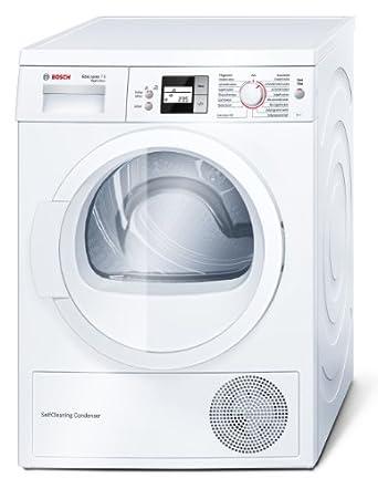 Bosch WTW8656ECO Warmepumpentrockner A 212 KWh Jahr 7 Kg SelfCleaning Condenser Nie Wieder Manuell Reinigen Weiss