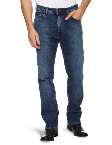Wrangler Arizona Stretch Straight Men's Jeans Blue Missouri W31 INxL34 IN
