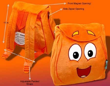 Dora The Explore : Diego Animal Resuer Plush Backpack Picture