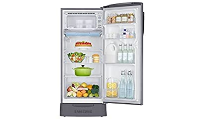 Samsung RR19H1835LX/TL Direct-cool Single-door Refrigerator (182 Ltrs, Grey)