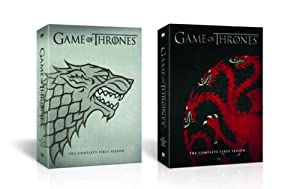 Game of Thrones: The Complete First Season DVD With LIMITED EDITION House Stark Sigil Packaging