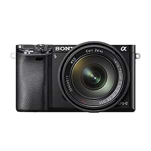 """Sony Alpha A6000 Kit Compact numérique hybride Ecran 3"""" (7,62 cm) 24,3 Mpix Zoom optique 4,4x Noir + Objectif 16-70 mm"""