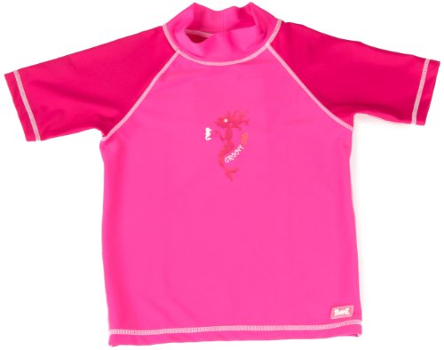 Baby BanZ Short Sleeve Rashy Top, Pink Mermaid, 2 Years
