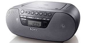 Sony ZS-S10CP Compact AM/FM/MP3/CD Radio Boombox