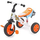 The Flyer's Bay Troopers Super Tricycle With Shock Absorbers (White & Blue)