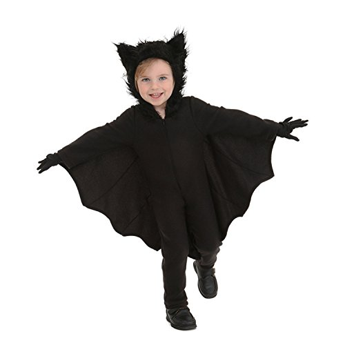 Halloween Bat Costumes for Kids with Gloves and Connect Wing (Medium)