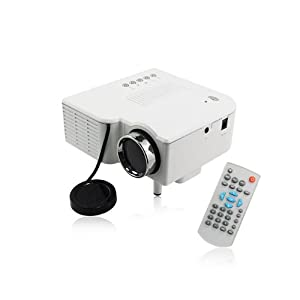 Sainsonic mini hd projector uc28 pro with for Hd projector amazon