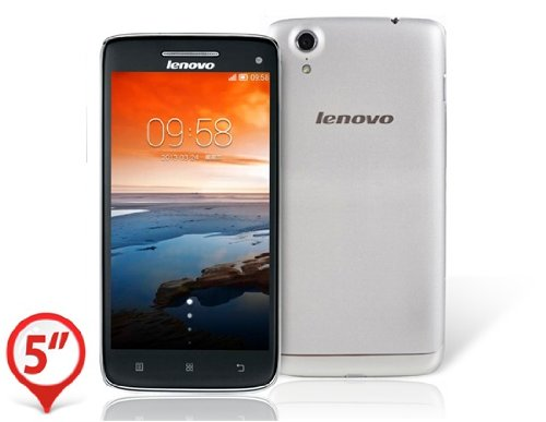 Click to buy Lenovo VIBE X S960 5.0 Capacitive IPS Corning III Gorilla Glass Touch Screen 1920x1080 Android 4.2 MTK6589T Quad-core 1.5GHz 2GB RAM & 16GB ROM 3G Phablet Smartphone with Bluetooth, Wi-Fi & A-GPS (Silver) - From only $53.96