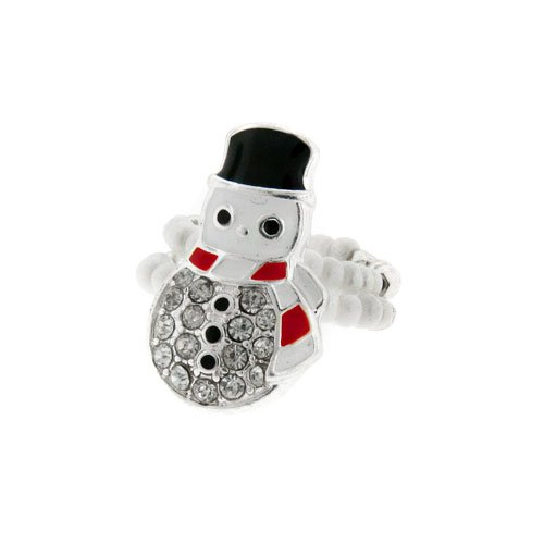 151 40 Snow Man Silver White Clear