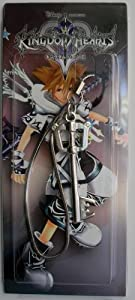 "3"" Kingdom Hearts Metal Key Blade Phone Charm Strap #15 ~Cosplay~"