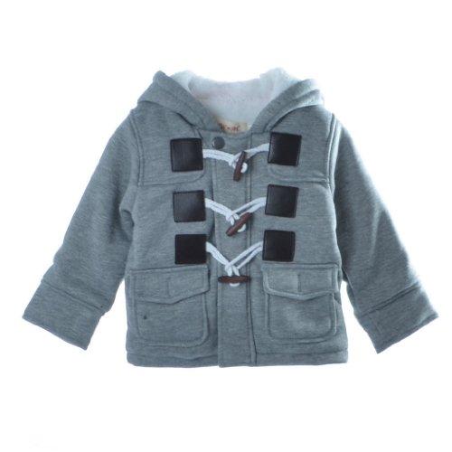 Bhl Baby Boys Coat 3M-4Y Winter (6-18Month, Grey) front-166765