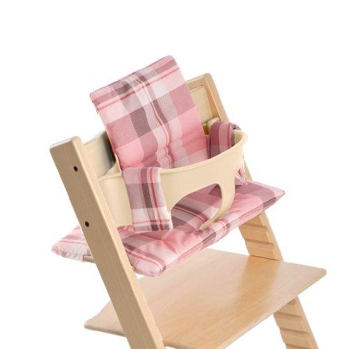Stokke Tripp Trapp Cushion, Tarten Pink front-861387