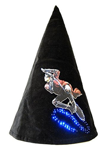 Harry Potter CAPPELLO MAGICO Luminoso Led SCOPA QUIDDITCH - Originale Cinereplicas Warner Bros