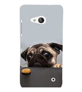 printtech Cute Dog Food Back Case Cover for Nokia Lumia 550::Microsoft Lumia 550