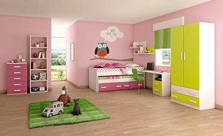 Composici n dormitorio juvenil 10 hogar for Dormitorios juveniles en amazon