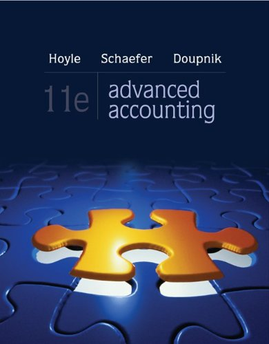 Advanced Accounting 11th Edition