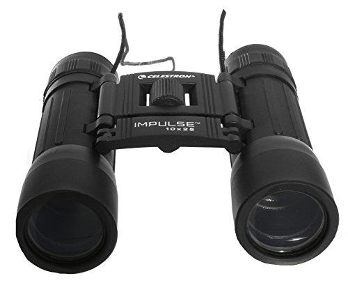 Celestron Impulse Compact Binocular 10X25, Bonus Carrying Case