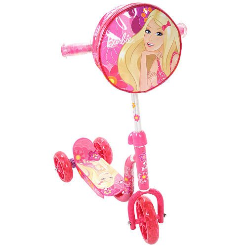 Ride With Me Barbie Folding Scooter